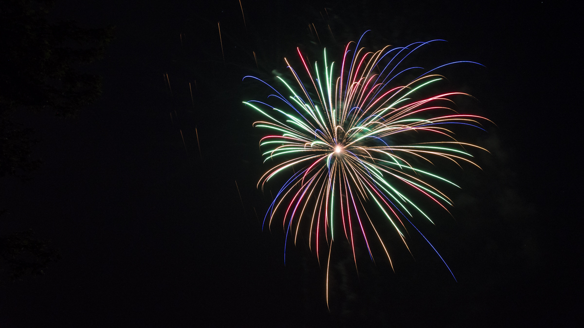 multi-color firework